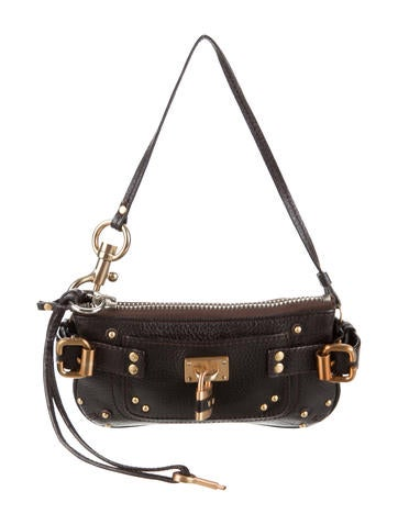 Chloé Leather Paddington Pochette