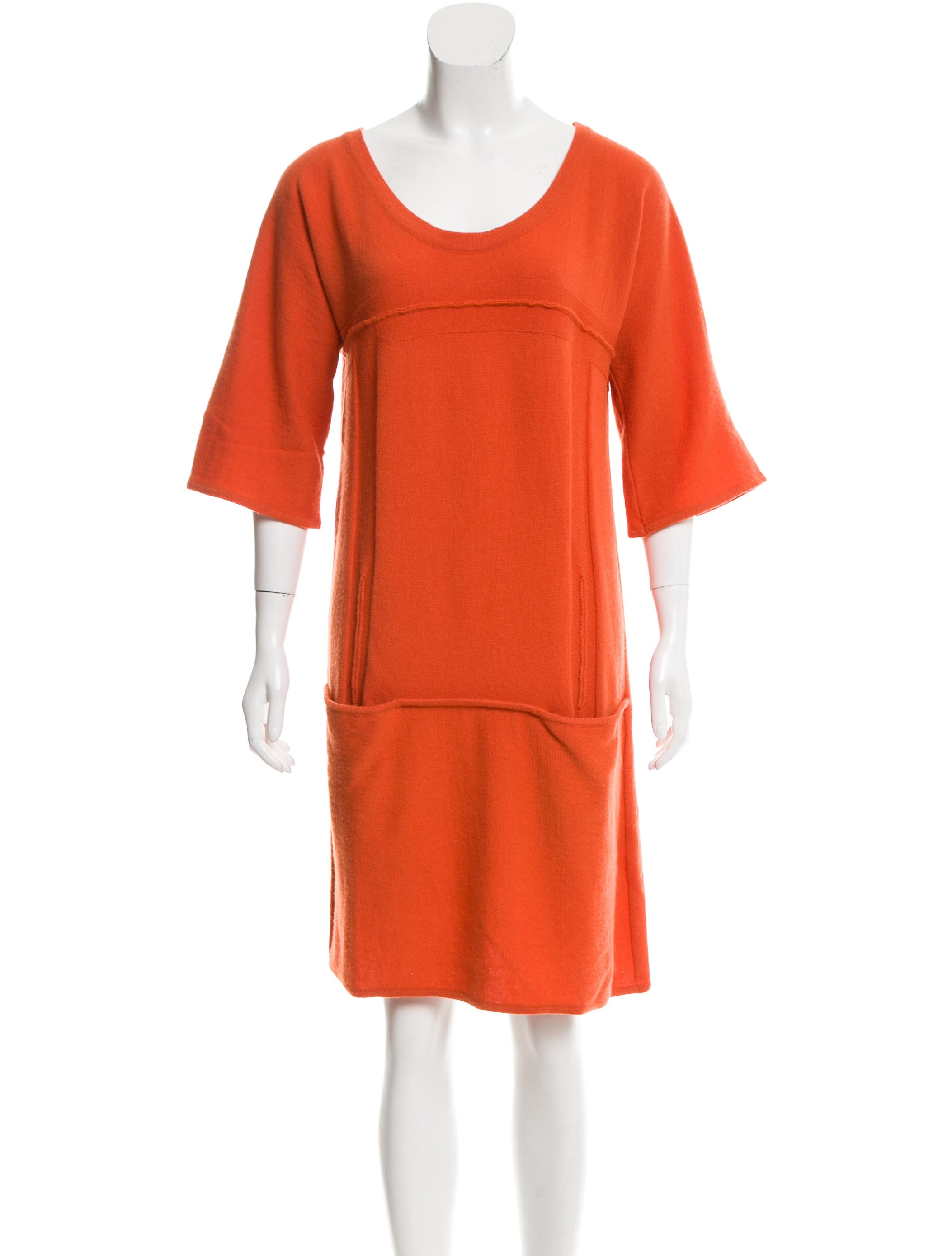 Chlou00e9 Wool Sweater Dress - Clothing - CHL51970 | The RealReal