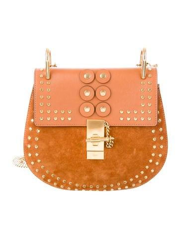 Studded Medium Drew Bag