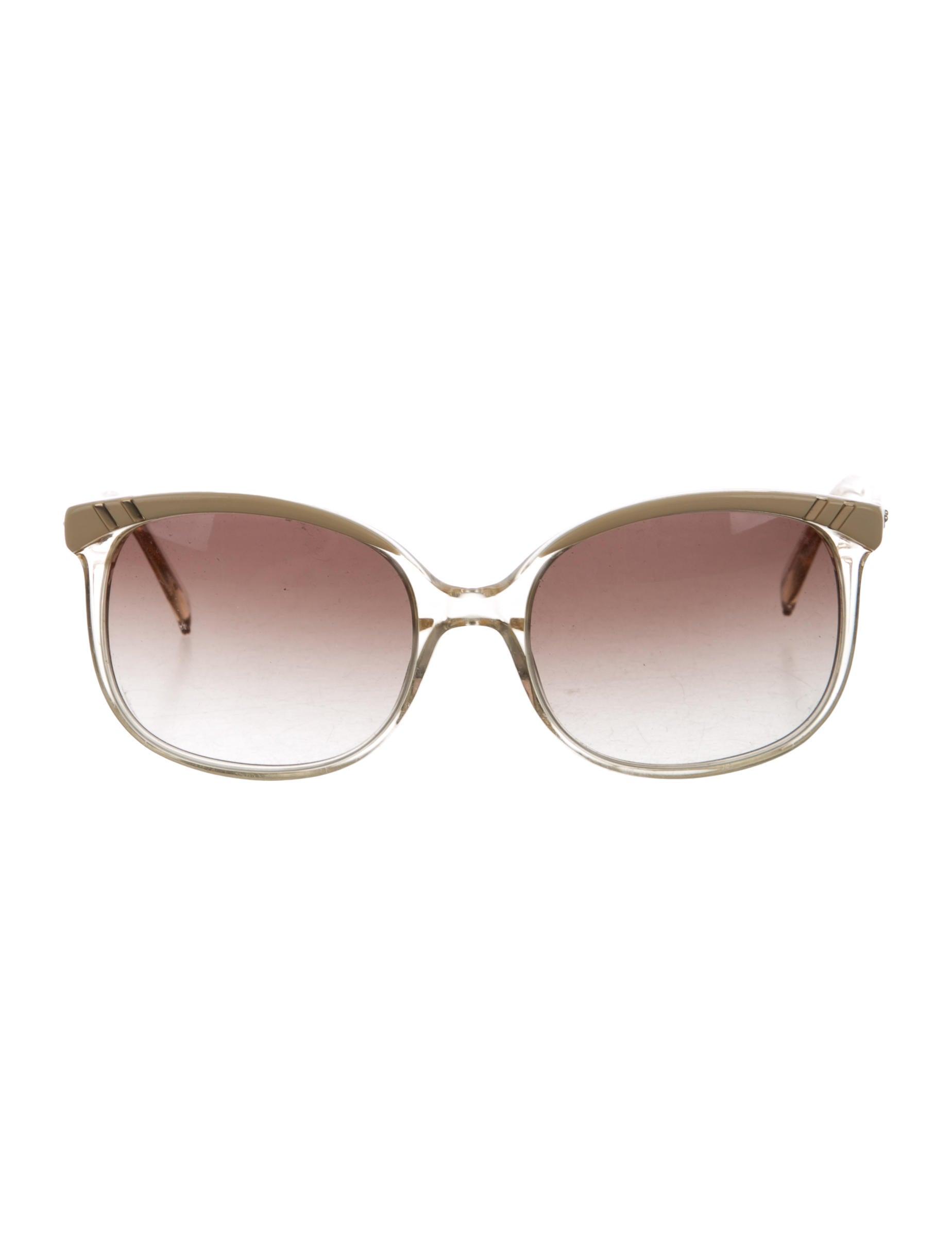 5ea930e00f54 Chloe Square Sunglasses