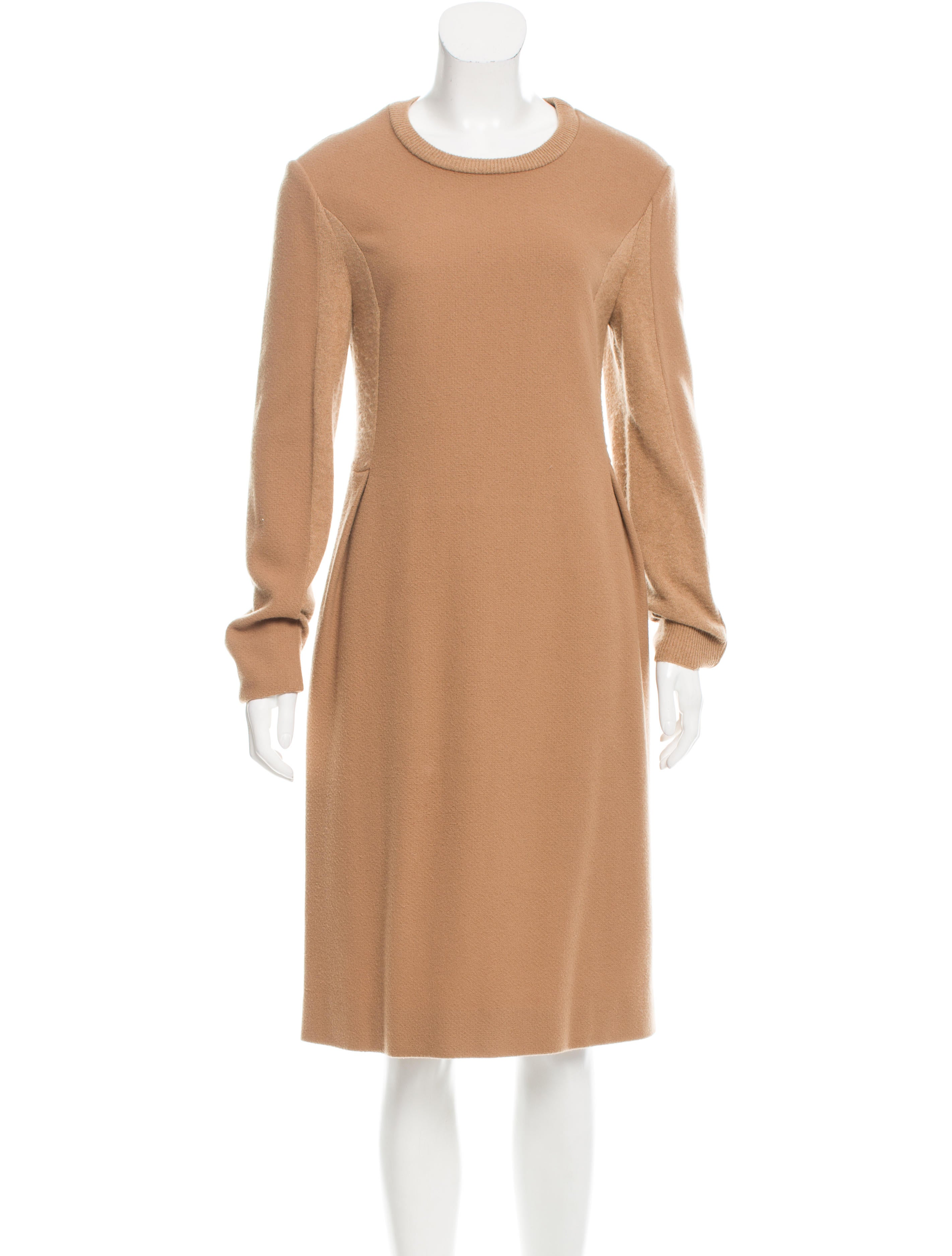 Chlou00e9 Wool Sweater Dress - Clothing - CHL53468 | The RealReal
