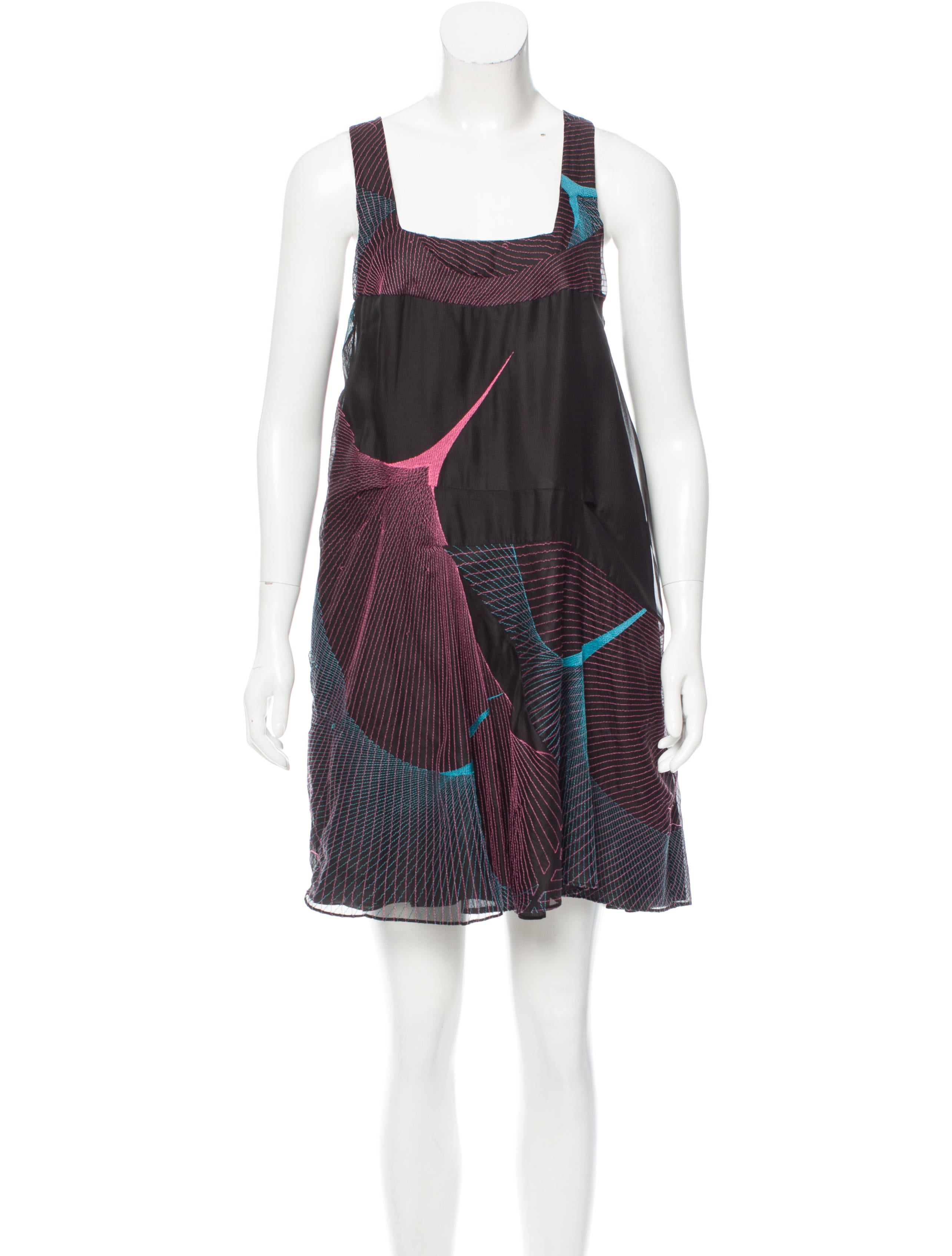 Chloé embroidered silk dress w tags clothing chl