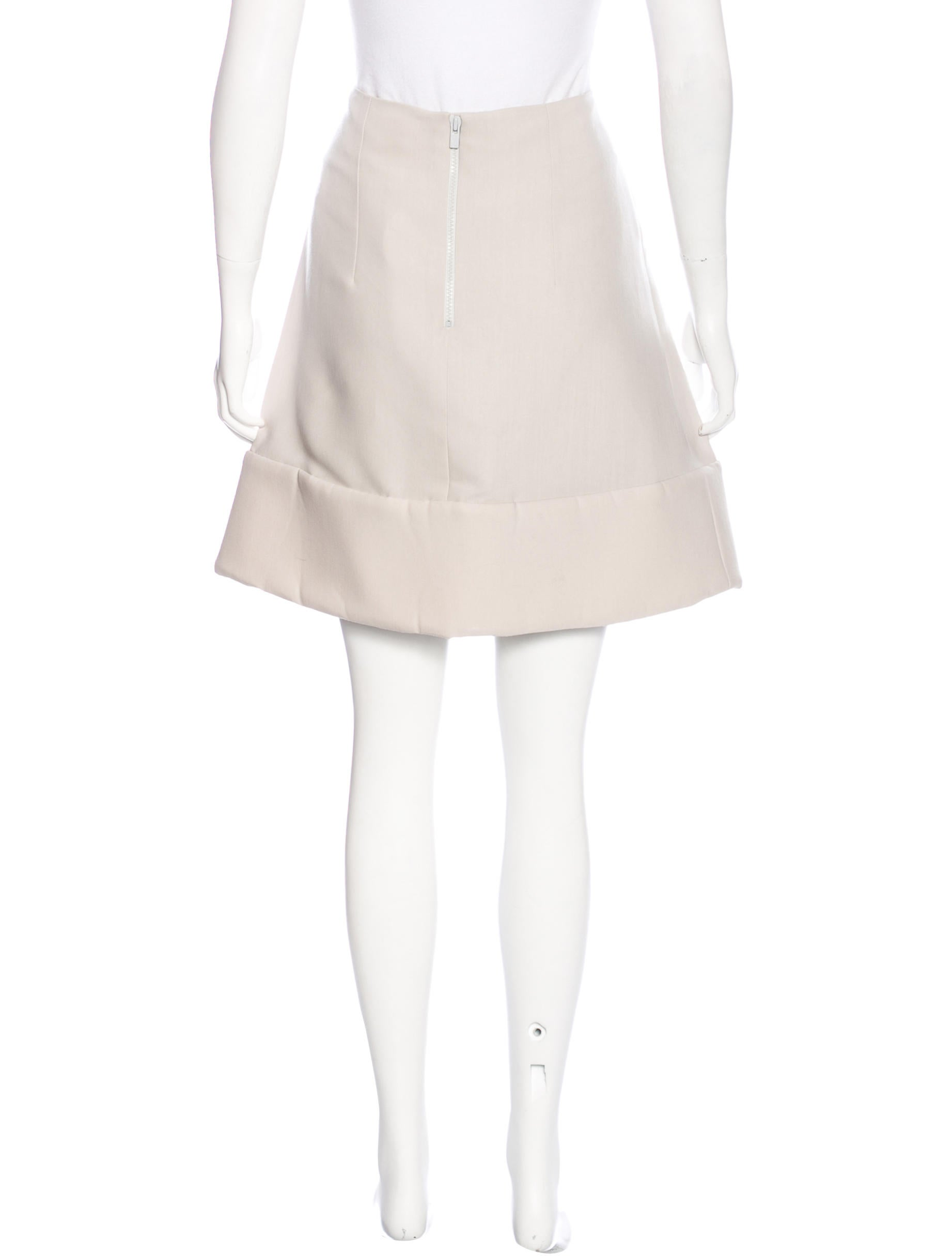 chlo 233 silk a line skirt w tags clothing chl53931