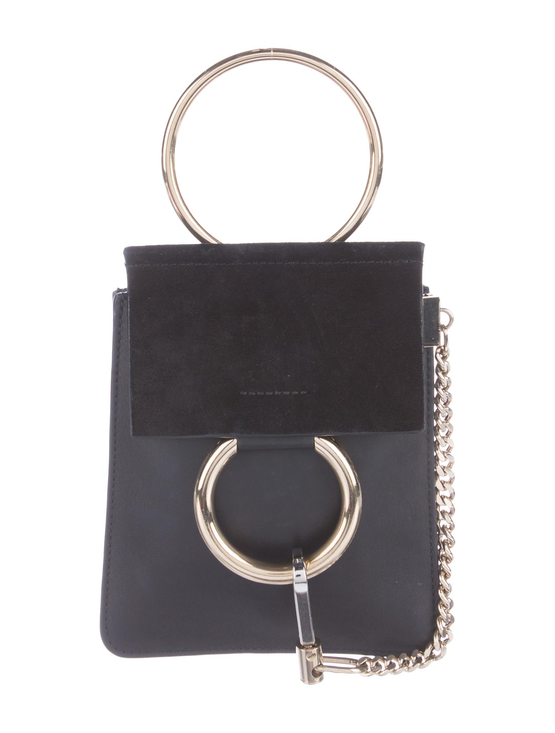chlo faye mini bracelet bag handbags chl55111 the realreal. Black Bedroom Furniture Sets. Home Design Ideas