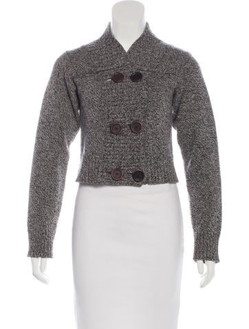 Chloé Wool Double-Breasted Cardigan None