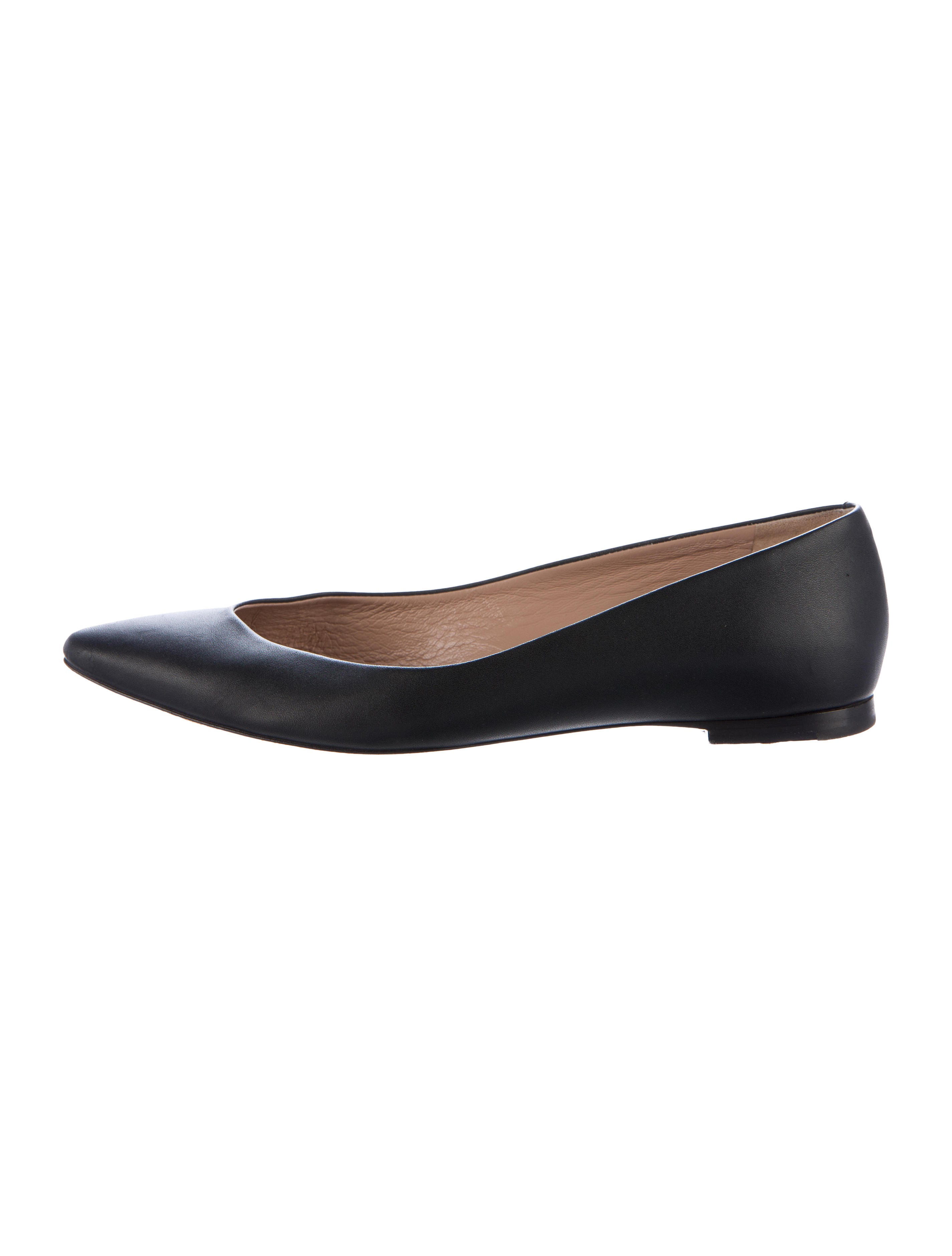 big discount sale online free shipping best prices Chloé Leather Pointed-Toe Flats 9h4CW