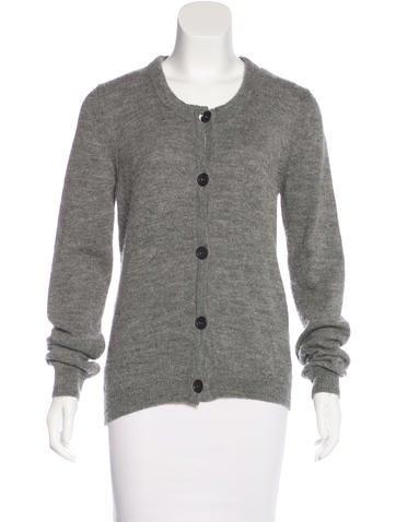Chloé Alpaca & Wool-Blend Knit Cardigan None