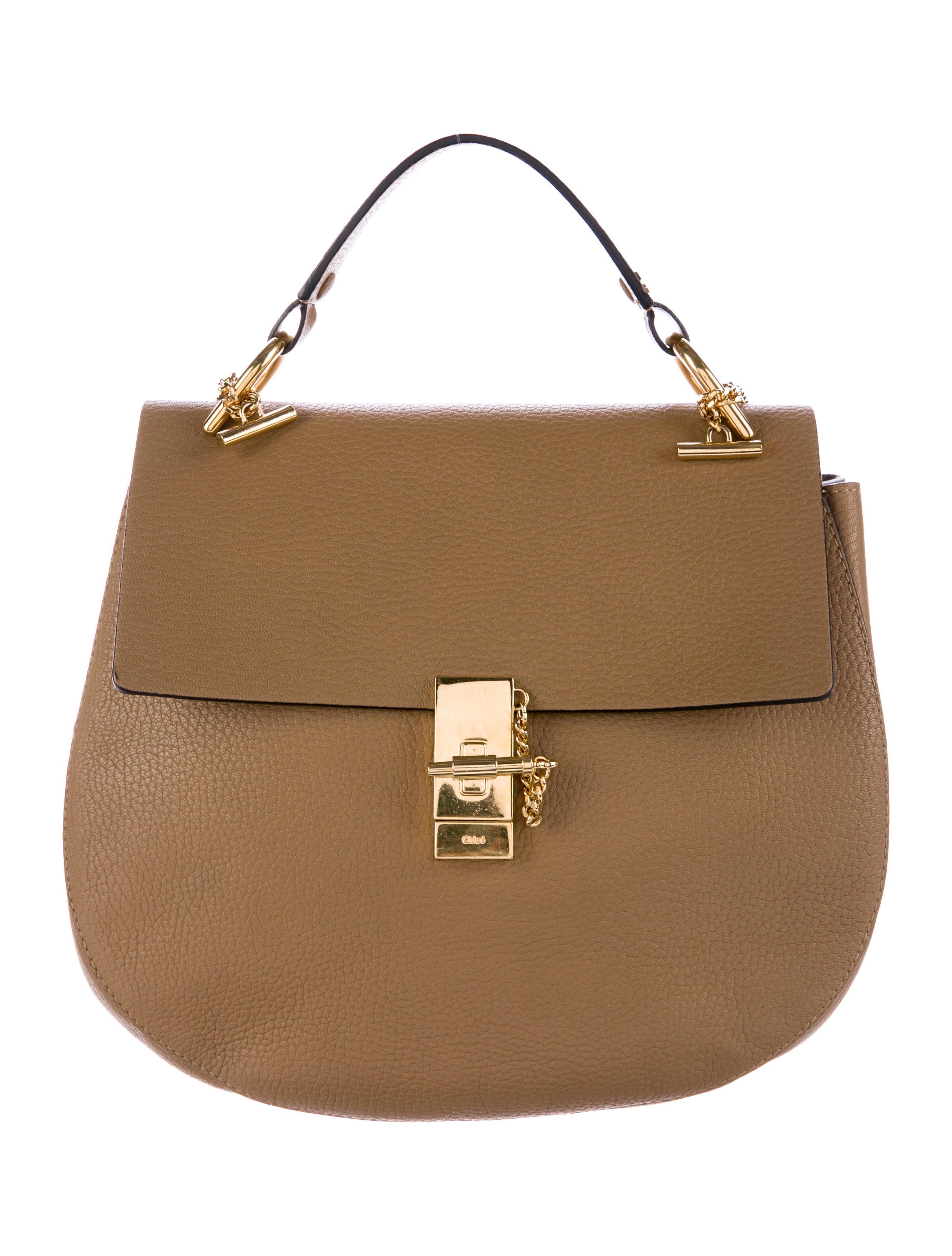 chlo large drew bag handbags chl60562 the realreal. Black Bedroom Furniture Sets. Home Design Ideas