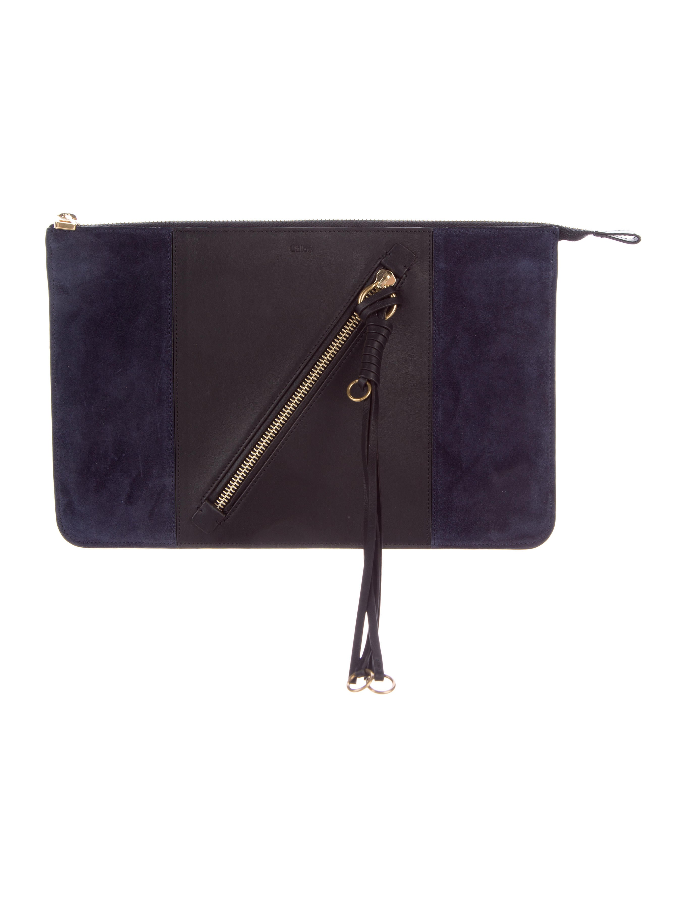 2017 Myer Suede Leather Pouch