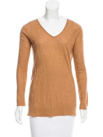 Chloé Cashmere V-Neck Sweater None