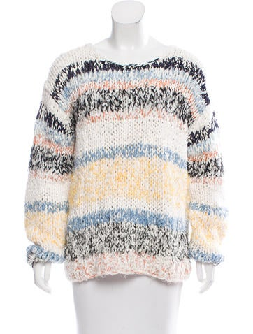 Chloé 2017 Patterned Sweater w/ Tags None