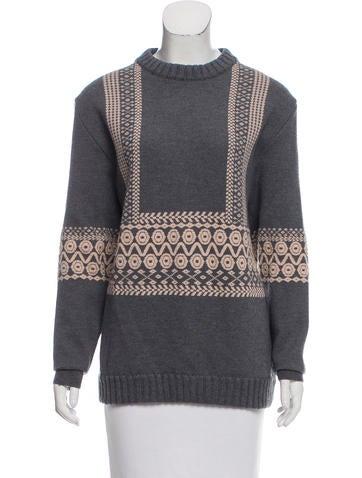 Chloé Wool Intarsia Sweater None