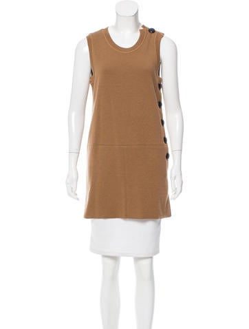 Chloé Sleeveless Wool Tunic None