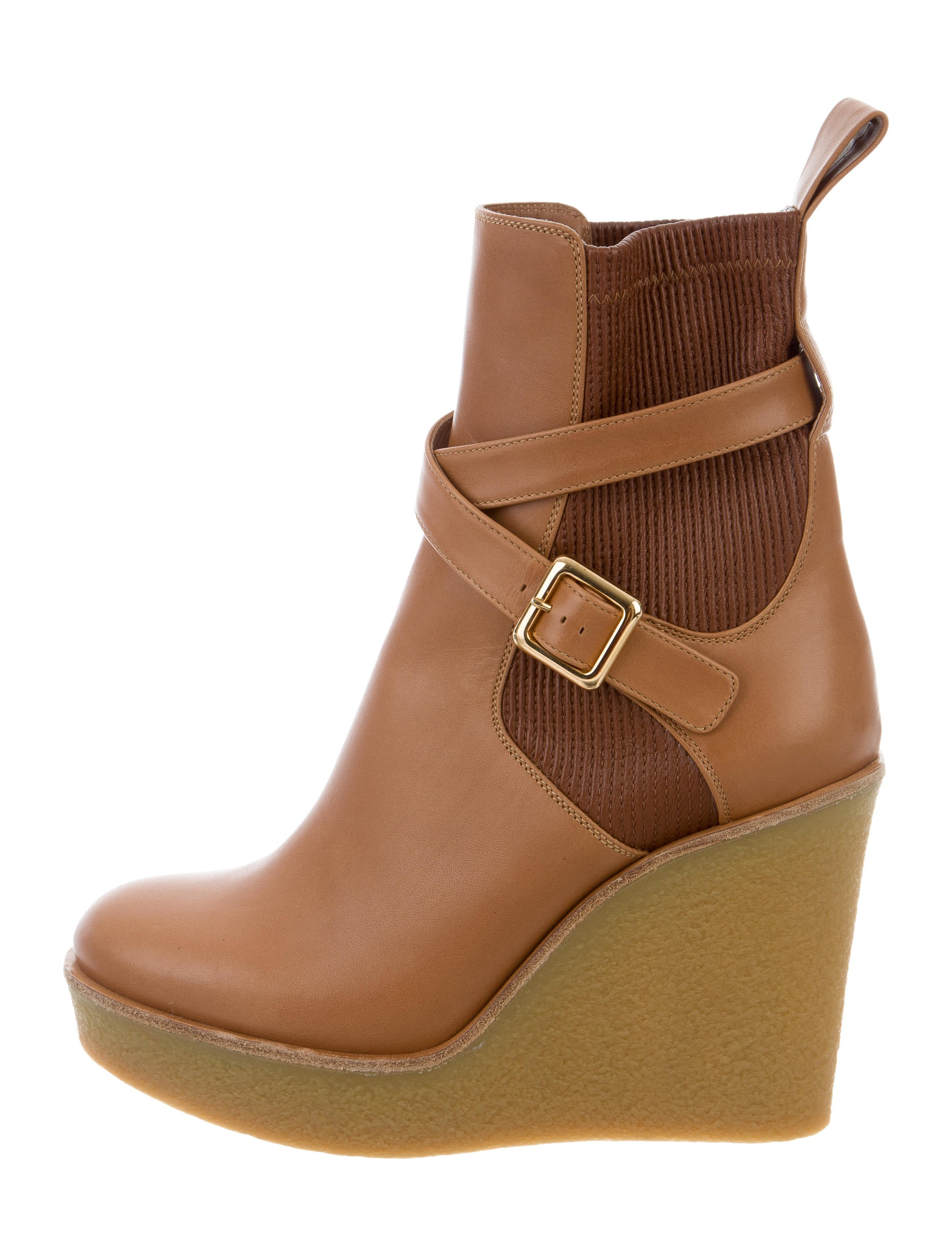 chlo 233 platform wedge ankle boots shoes chl62376 the