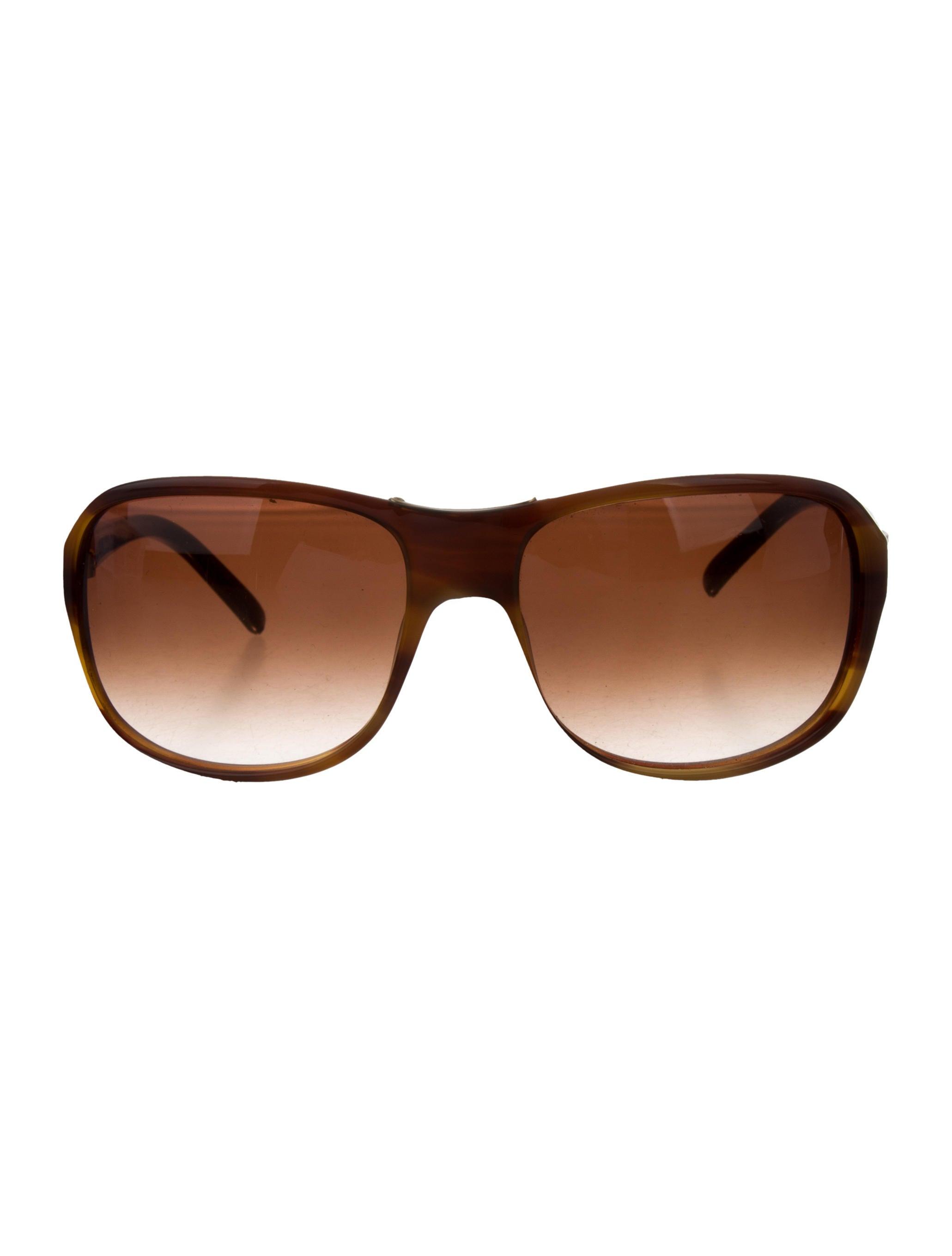0229a243f0 Chloé Semi-Round Acetate Sunglasses - Accessories - CHL62731