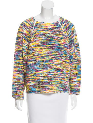 Chloé Striped Knit Sweater w/ Tags None