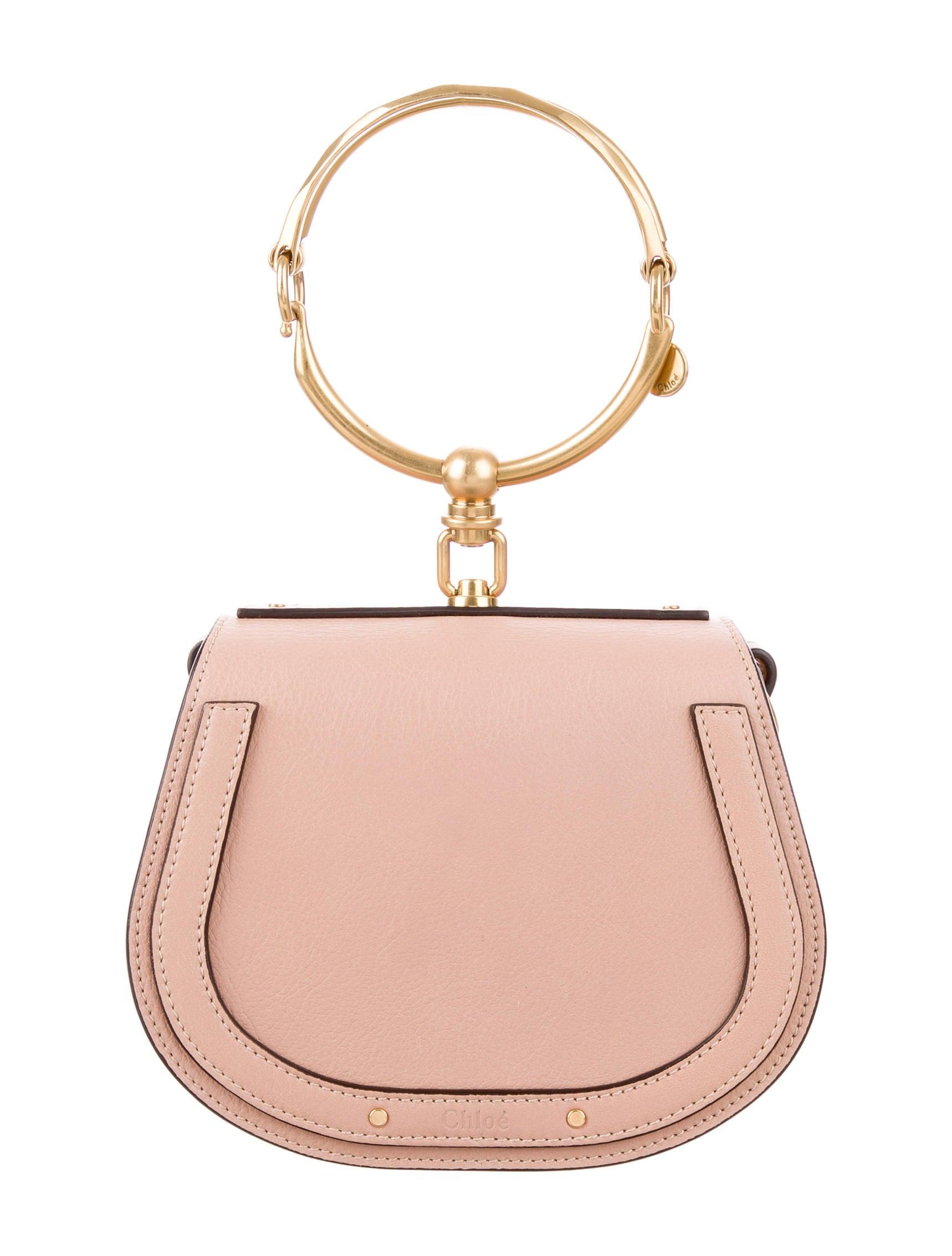 c94b77c7787 Chloe Nile Bracelet Bag Beige