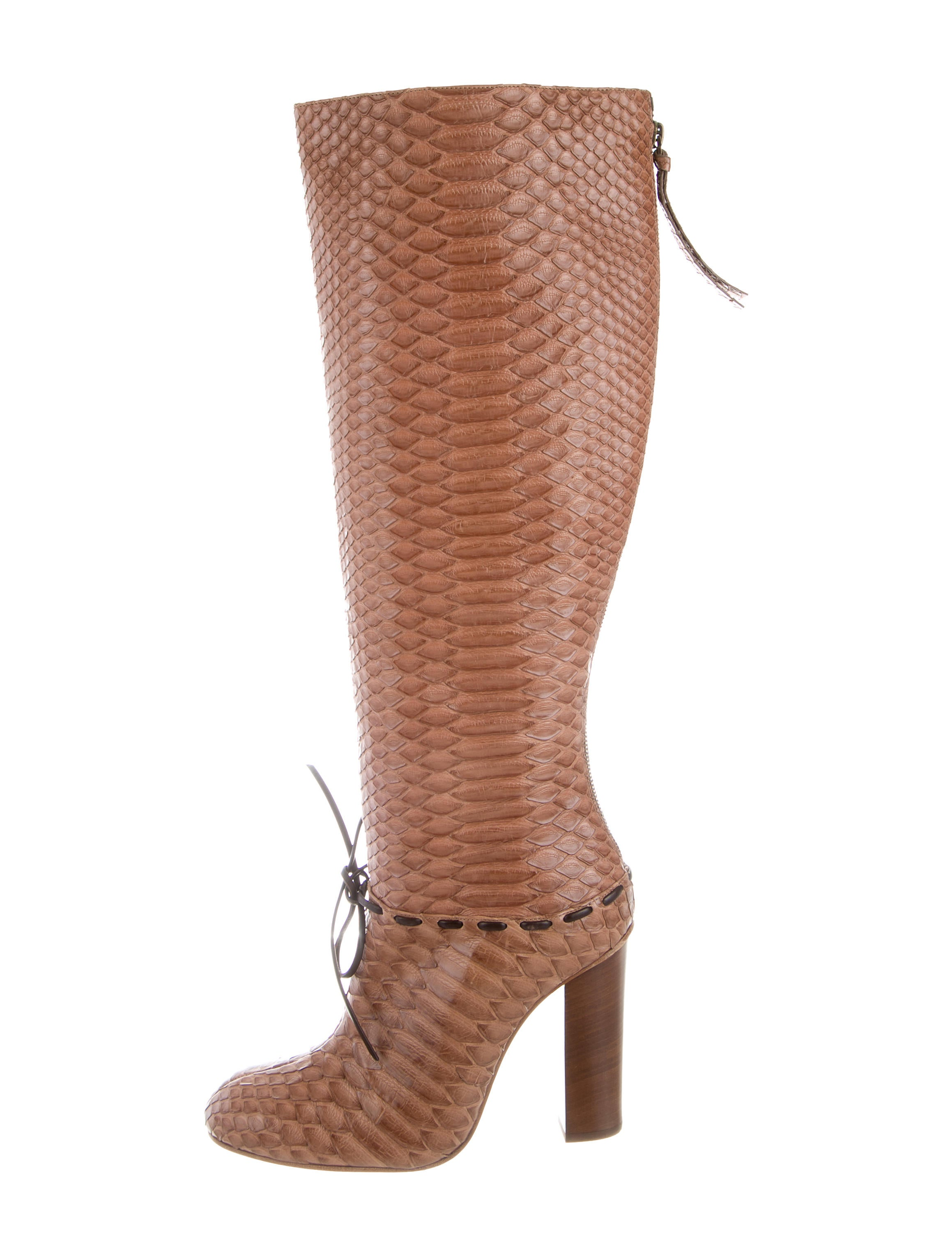 excellent cheap online Chloé Python Knee-High Boots outlet wholesale price low price fee shipping online outlet big sale top quality for sale 2kfNQlRIX