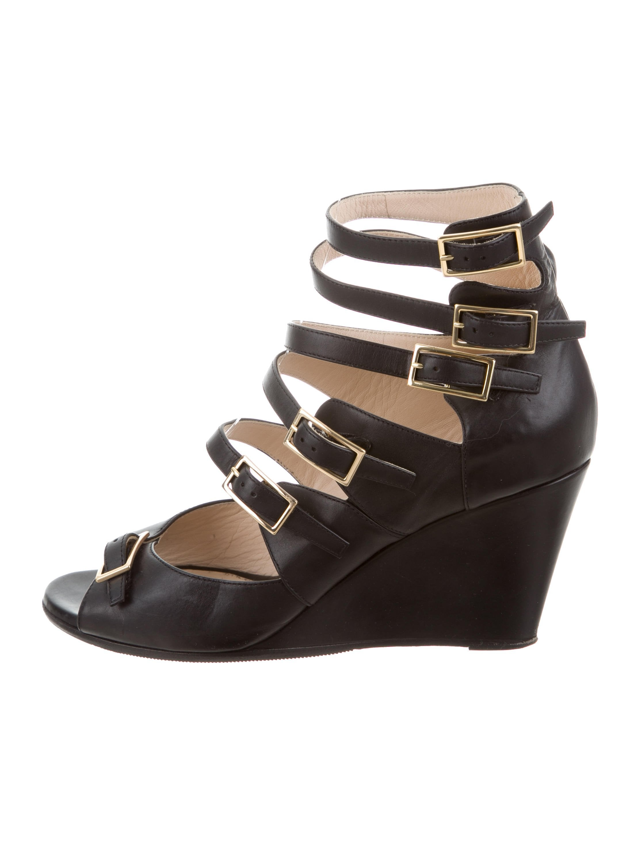 Chloé Arce Leather Wedges pay with visa affordable for sale cheap pick a best tumblr cheap price where to buy gTKy2Sh5K9