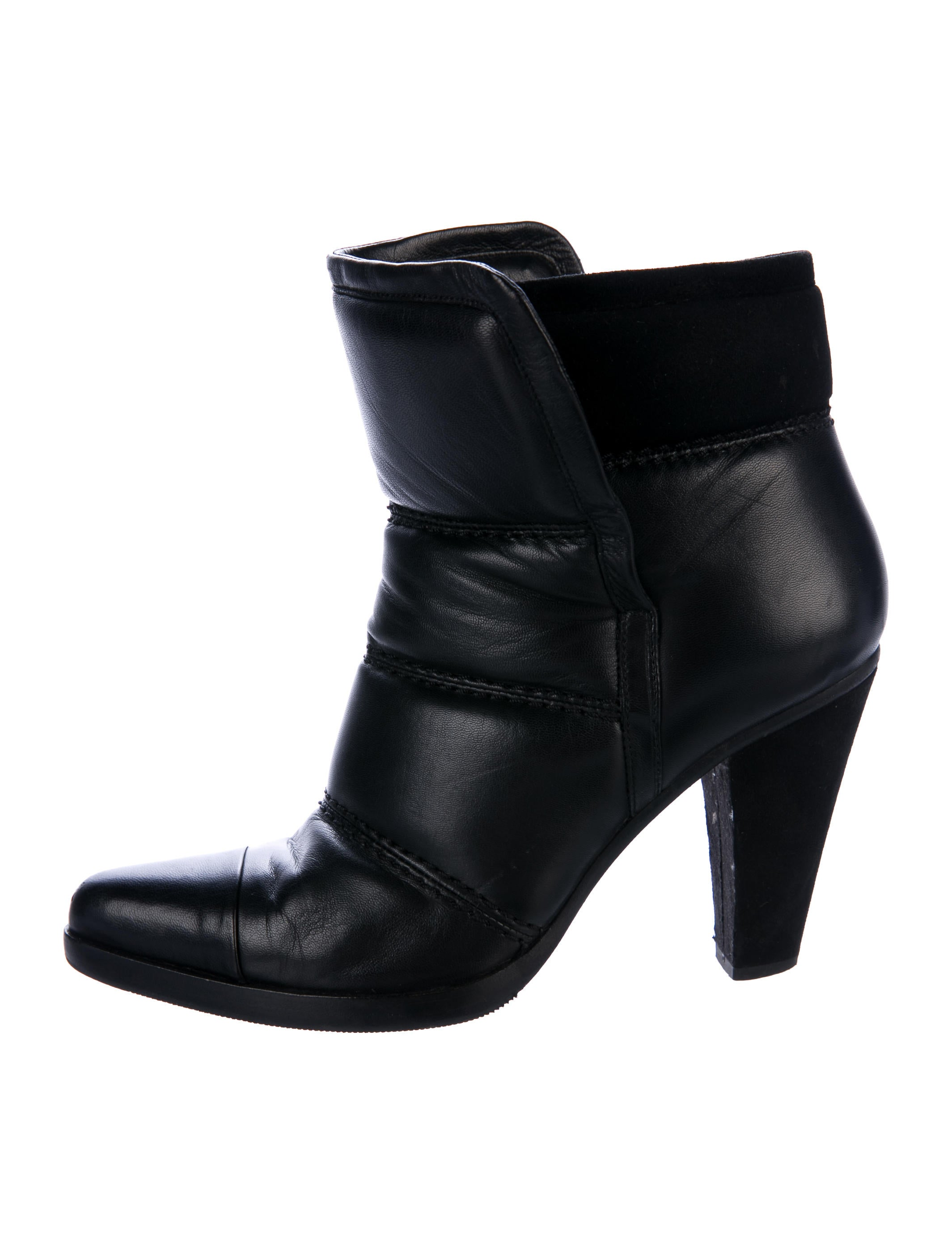 sale professional discount wholesale Chloé Devon Quilted Ankle Boots WCi2KvDpUF