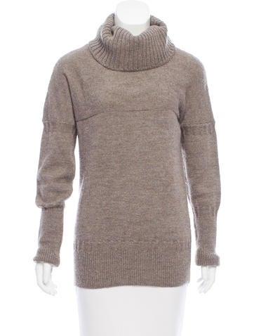 Chloé Wool & Alpaca-Blend Sweater None