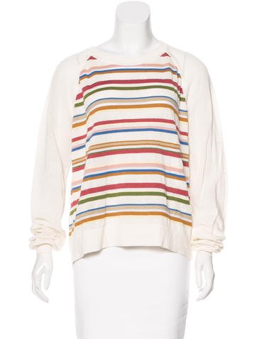 Chloé Striped Long Sleeve Top None