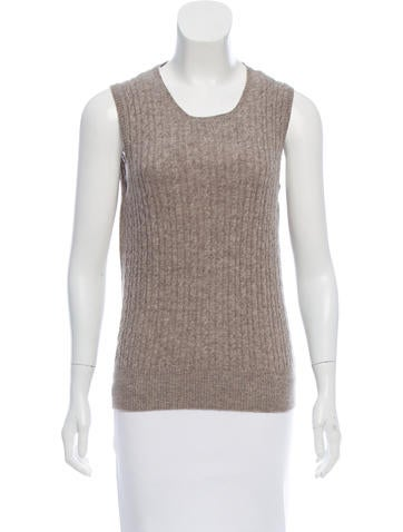 Chloé Cable Knit Wool Top None