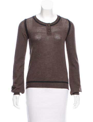 Chloé Wool Knit Sweater None