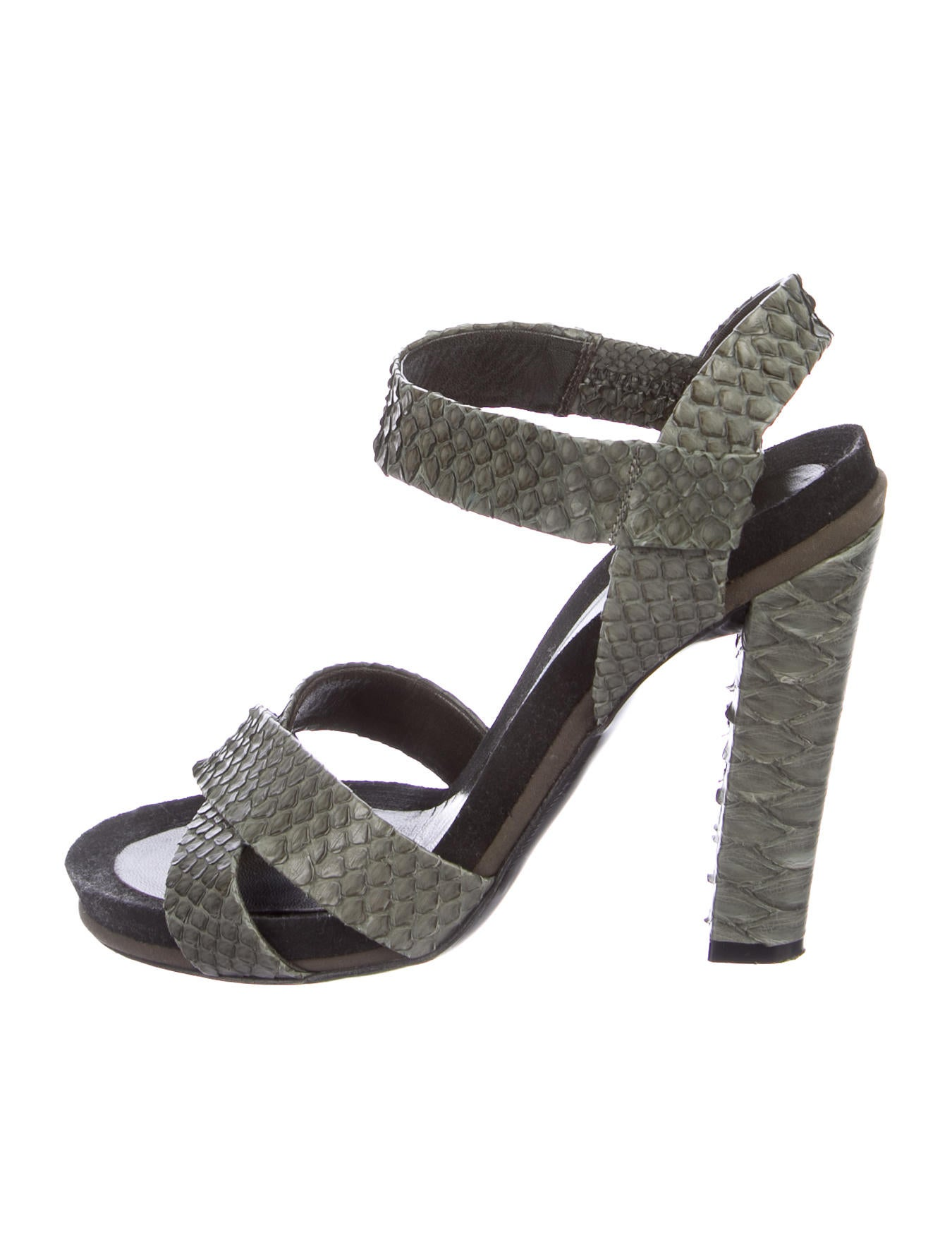 sast Chloé Python Crossover Sandals sale amazing price cheap sale new styles low price fee shipping shop for cheap price Xws2bxeZ