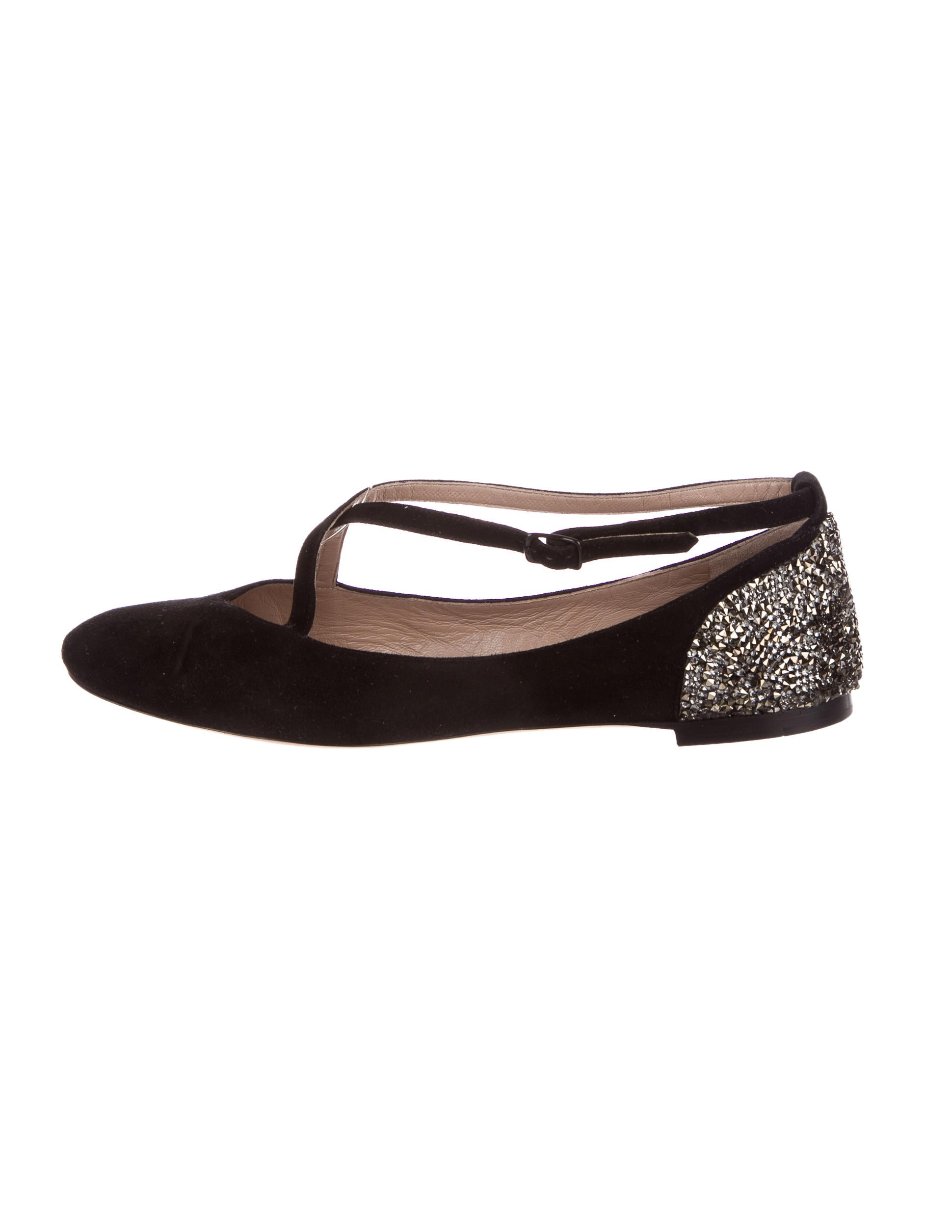 sale deals free shipping 2015 Chloé Strass-Embellished Suede Flats Cheapest cheap online outlet cheap authentic Inexpensive online yJJiJTNB