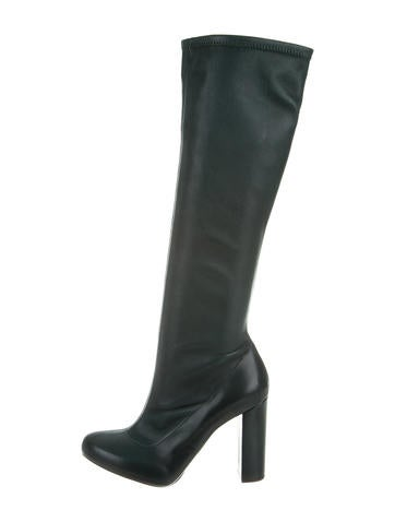 Chloé Leather Knee-High Boots None