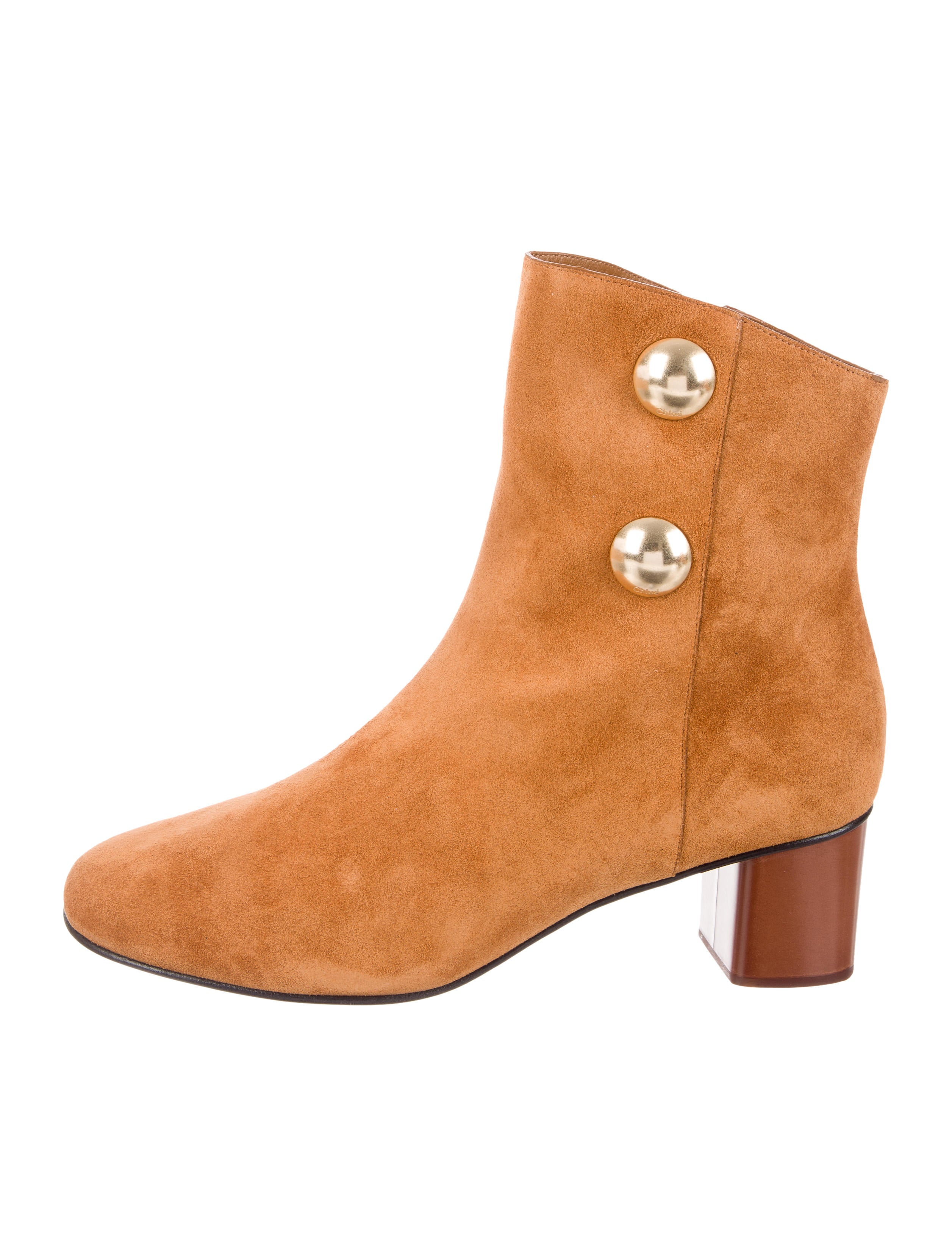 Chloé Suede Chelsea Boots w/ Tags how much online fake cheap price free shipping cheap online affordable sale online outlet release dates TKAhFyG