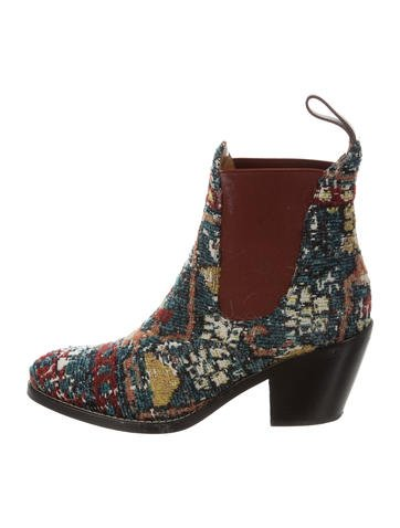 Chloé Kooper Ankle Booties None