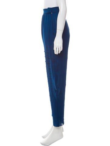 High-Rise Straight-Leg Pants