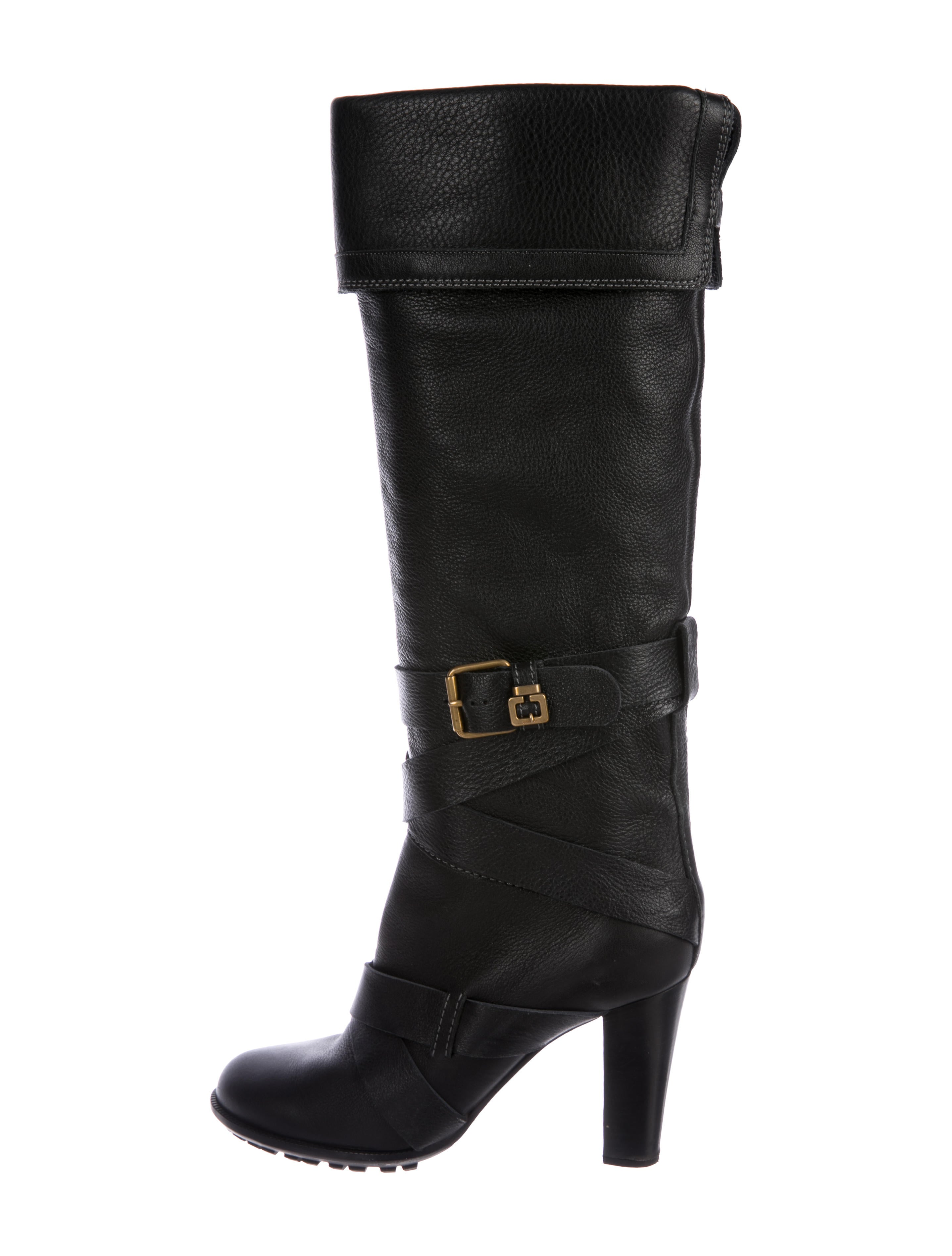 fashionable cheap online Chloé Multistrap Knee-High Boots outlet with paypal order online qy5nW
