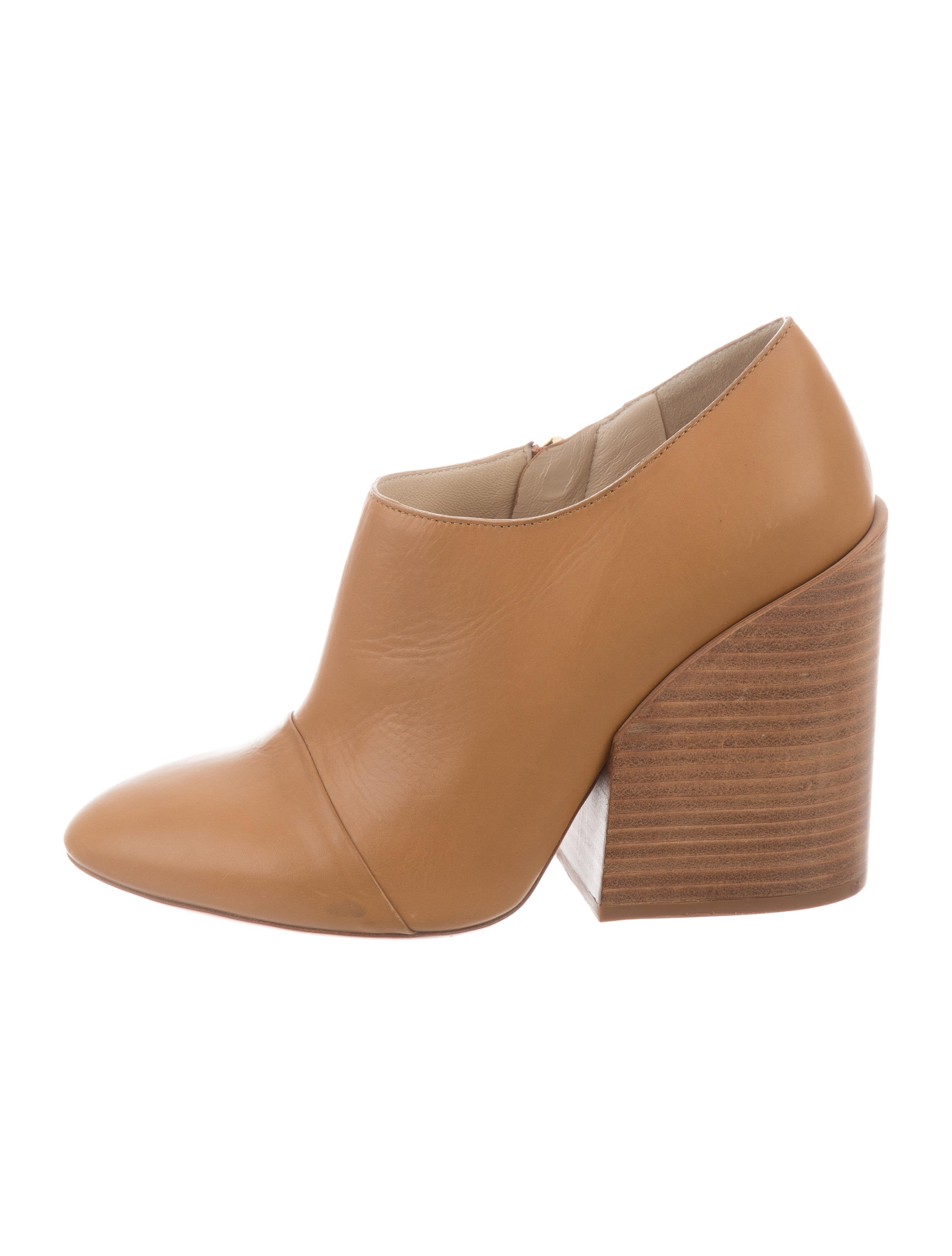ebay online buy cheap best prices Chloé Stabio Leather Booties outlet best place cheap discount sale oGjhGCQ