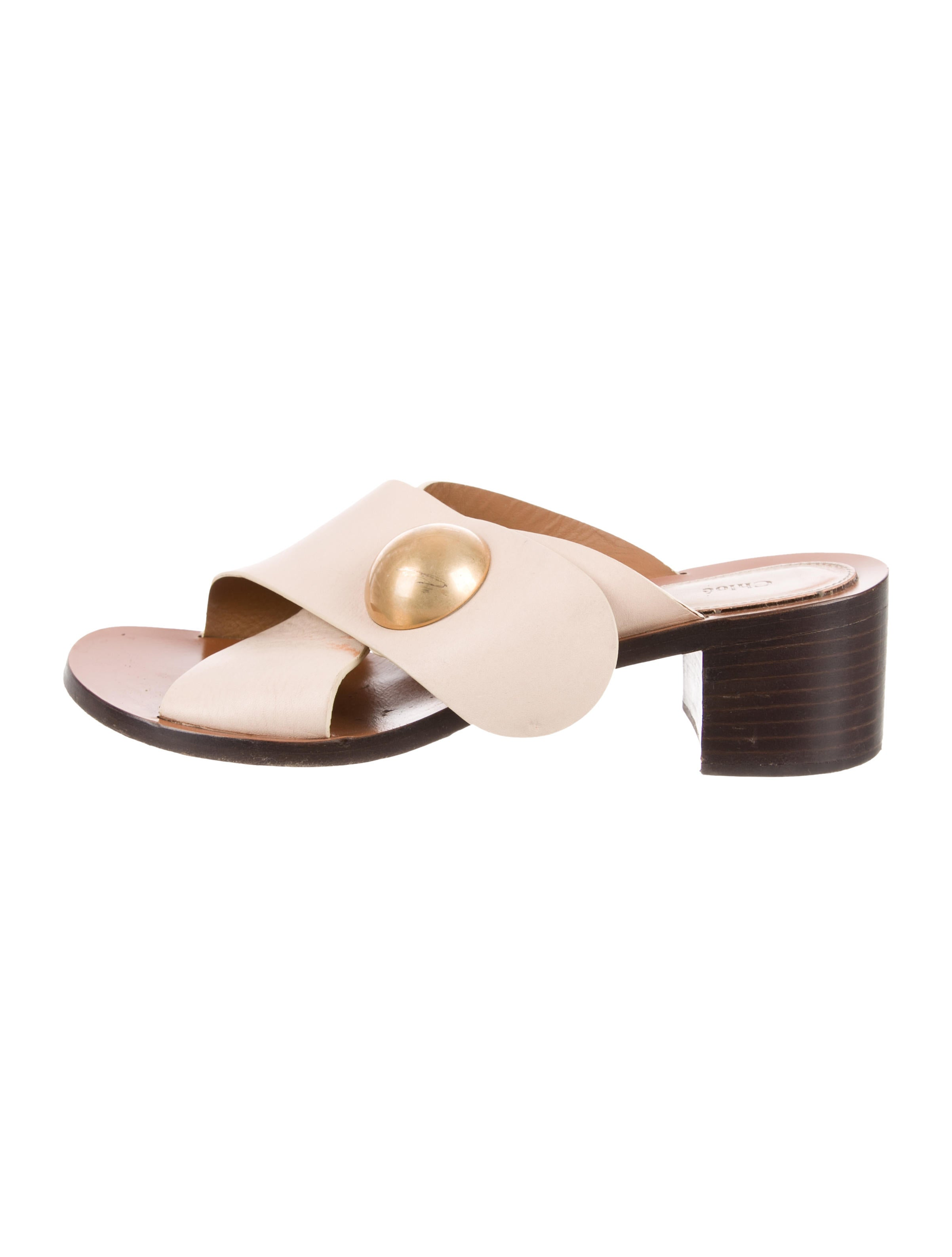 the cheapest cheap price Chloé Leather Crossover Sandals hot sale cheap online choice online JTBCTU
