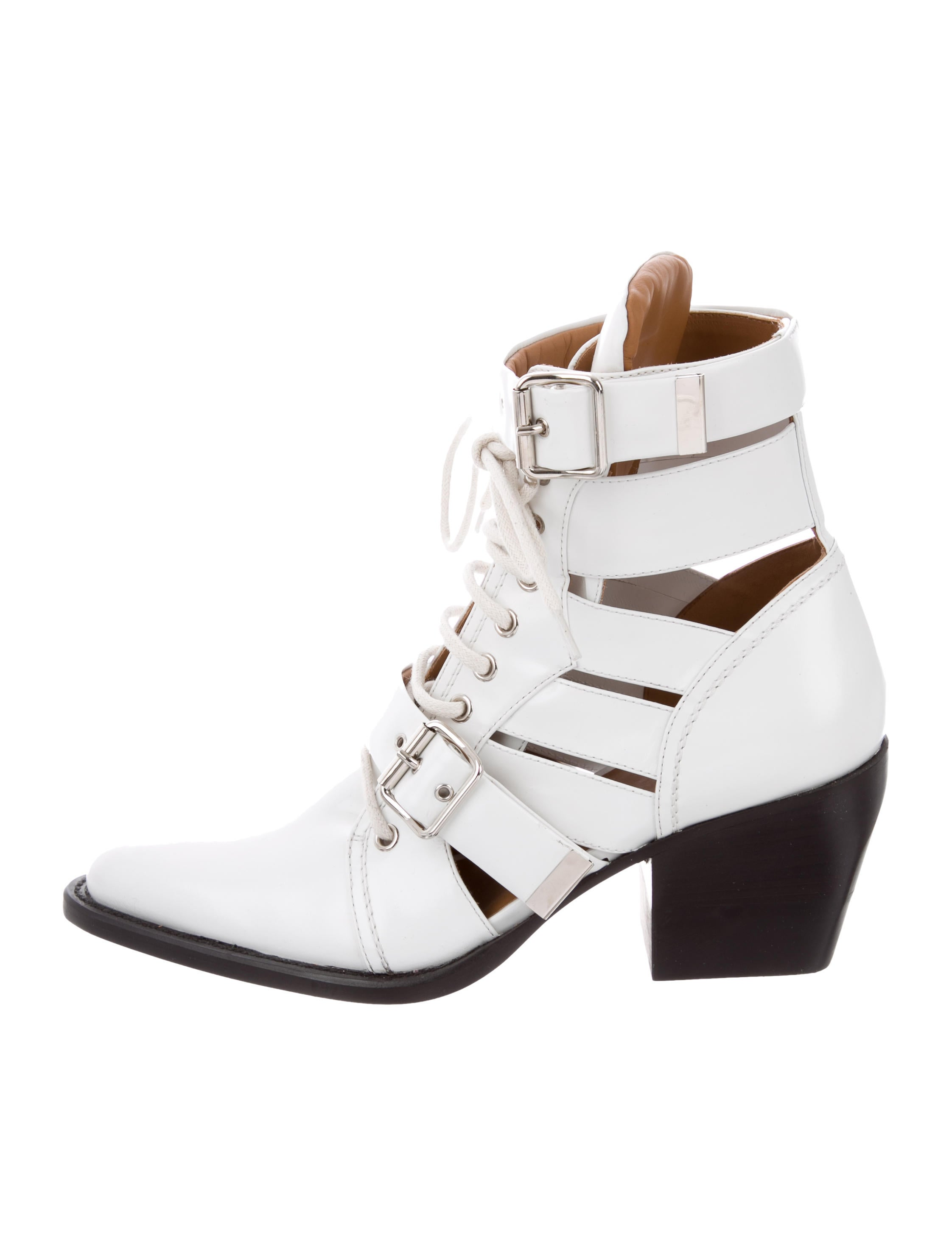 dbe92864dcf6 Chloé Rylee Ankle Boots - Shoes - CHL72388