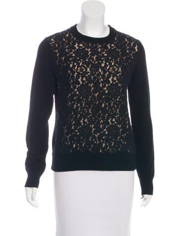 Chloé Lace Knit Sweater None