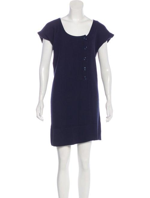 Chloé Asymmetrical Knit Dress