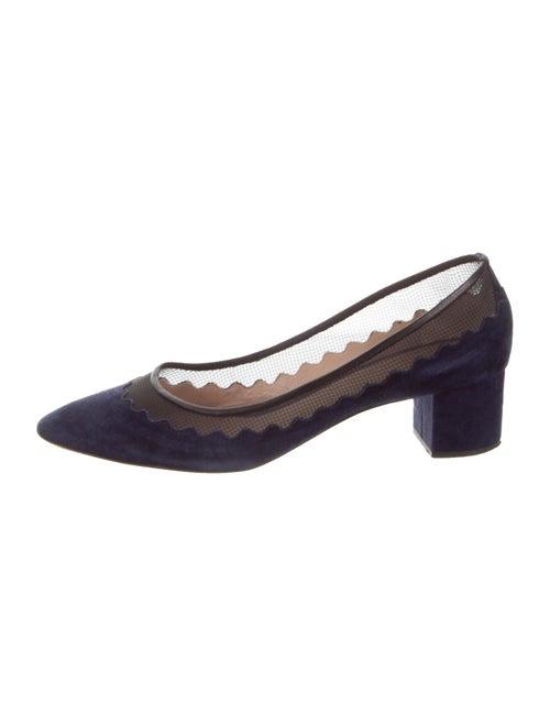 098ec576aab Chloé Lauren Scalloped Pumps - Shoes - CHL93940