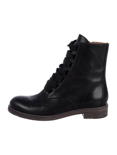d2210a3ff33e0 Chloé Leather Ankle Boots - Shoes - CHL99687