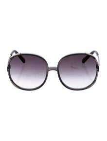 cce3d6b9b3f Oversize Gradient Sunglasses.  75.00 · Chloé