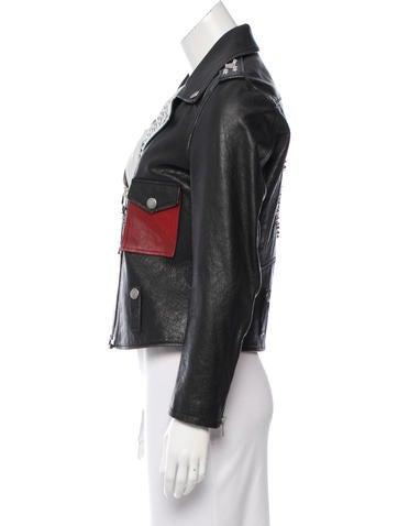 Mickey Leather Jacket w/ Tags