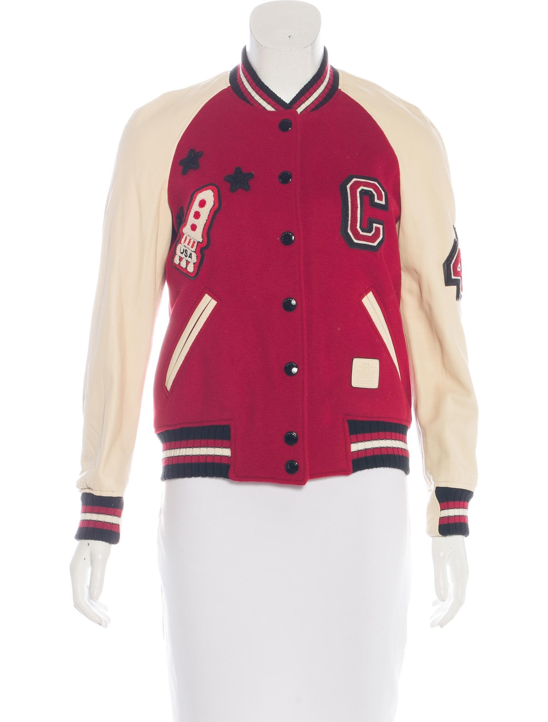 Coach 1941 Wool Classic Varsity Jacket Clothing  : CHNFO200691enlarged from www.therealreal.com size 1749 x 2307 jpeg 201kB