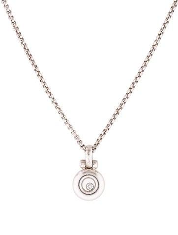 Chopard 18K Happy Diamonds Necklace