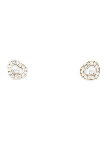 Chopard Happy Diamond Stud Earrings