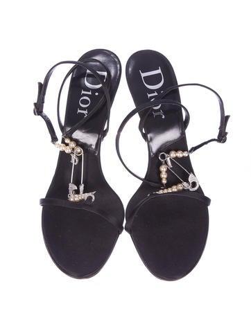 Satin Sandals