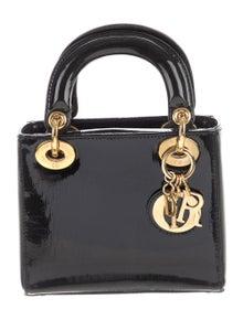 a3663bf50d Christian Dior. Mini Lady Dior Bag