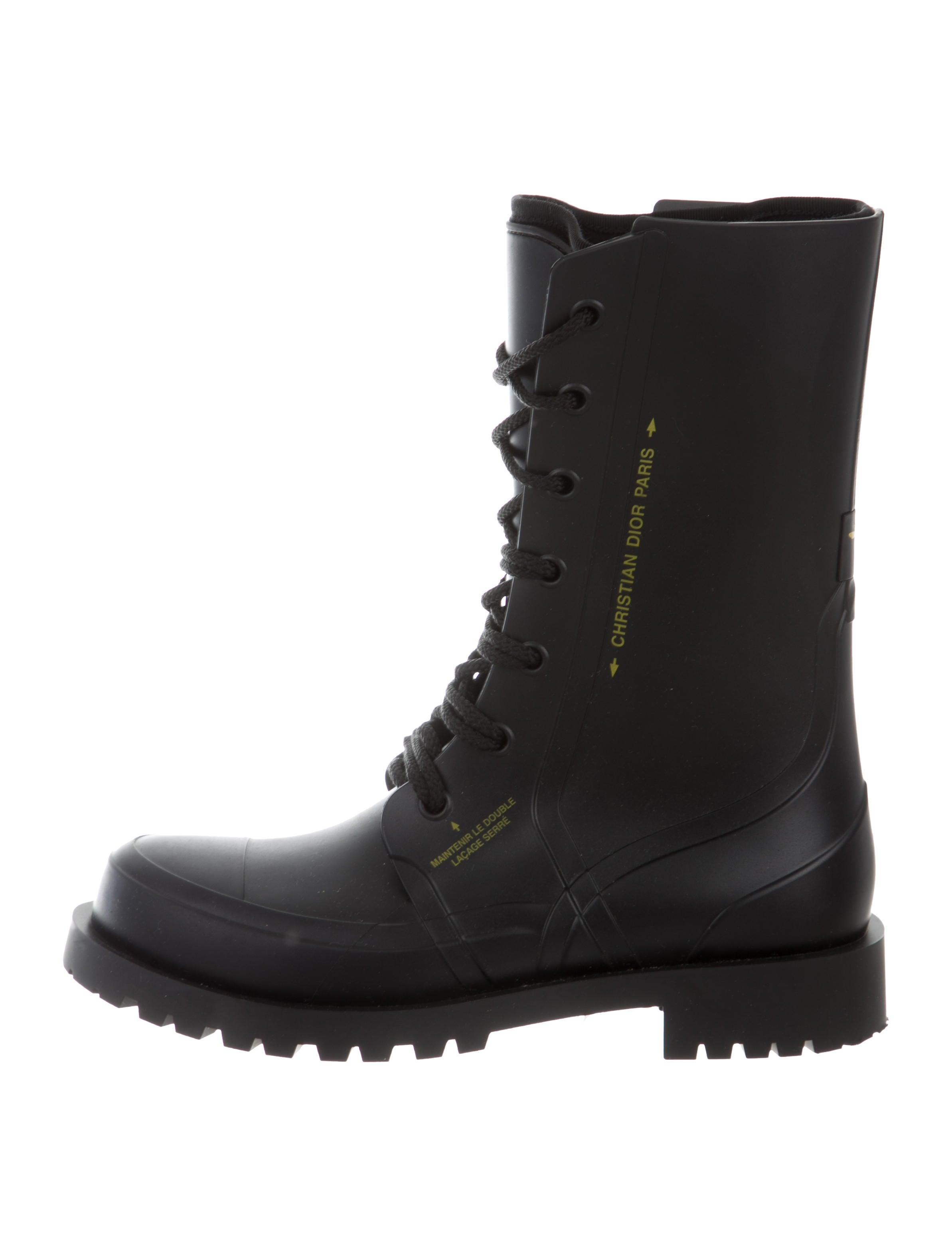 Christian Dior Diorcamp Rubber Boots